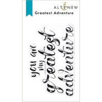 Altenew - Clear Photopolymer Stamps - Greatest Adventure