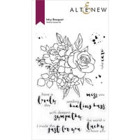 Altenew - Clear Photopolymer Stamps - Inky Bouquet