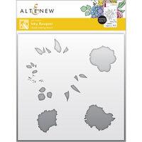 Altenew - Simple Coloring Stencil - Inky Bouquet