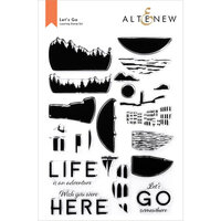Altenew - Clear Photopolymer Stamps - Let's Go