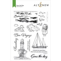 Altenew - Clear Photopolymer Stamps - Seas the Day