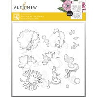 Altenew - Simple Coloring Stencil - 4 in 1 Set - Sisters of the Heart