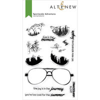 Altenew - Clear Photopolymer Stamps - Spectacular Adventures