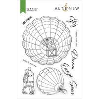 Altenew - Clear Photopolymer Stamps - Up and Away