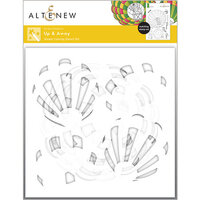 Altenew - Simple Coloring Stencil - 5 in 1 Set - Up and Away