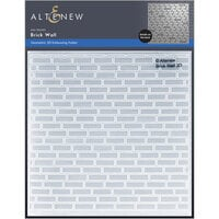 Altenew - Embossing Folder - 3D - Brick Wall