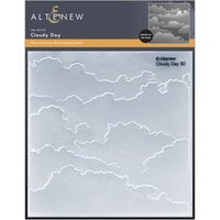 Altenew - Embossing Folder - 3D - Cloudy Day