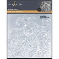 Altenew - Embossing Folder - 3D - Mighty Waves