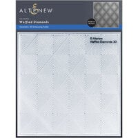 Altenew - Embossing Folder - 3D - Waffled Diamonds