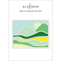Altenew - Dies - Abstract Landscape Cover