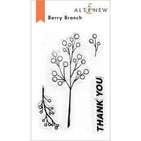 Altenew - Clear Photopolymer Stamps - Berry Branch