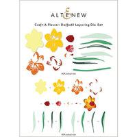 Altenew - Layering Dies - Craft A Flower - Daffodil