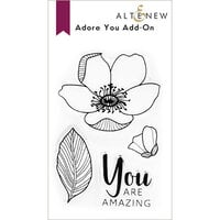 Altenew - Clear Photopolymer Stamps - Adore You Add-On