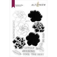 Altenew - Clear Photopolymer Stamps - Gardenia Duo