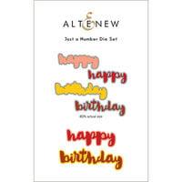 Altenew - Dies - Just a Number