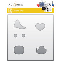 Altenew - Simple Coloring Stencil - Vintage Vibes