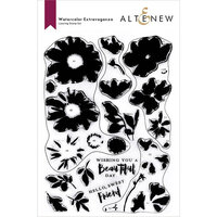 Altenew - Clear Photopolymer Stamps - Watercolor Extravaganza