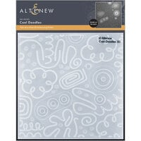Altenew - Embossing Folder - 3D - Cool Doodles