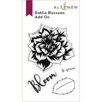 Altenew - Clear Photopolymer Stamps - Dahlia Blossoms Add-On