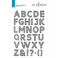 Altenew - Clear Photopolymer Stamps - Modern Alphabet