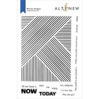 Altenew - Clear Photopolymer Stamps - Woven Stripes