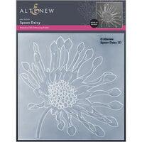 Altenew - Embossing Folder - 3D - Spoon Daisy