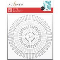 Altenew - Stencil - 2 in 1 Set - Brick Rosette Builder