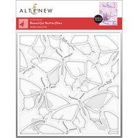 Altenew - Stencil - 3 in 1 Set - Bountiful Butterflies Builder