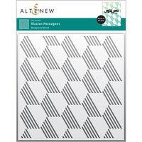 Altenew - Stencil - Illusion Hexagons