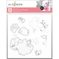 Altenew - Stencil - 3 in 1 Set - Impressionist Bouquet