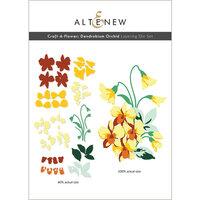 Altenew - Layering Dies - Craft A Flower - Dendrobium Orchid