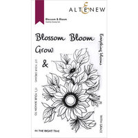 Altenew - Clear Photopolymer Stamps - Blossom and Bloom