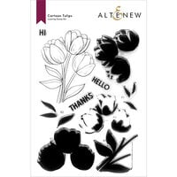 Altenew - Clear Photopolymer Stamps - Cartoon Tulips