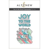 Altenew - Dies - Joy to the World Typography
