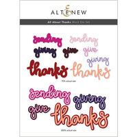 Altenew - Dies - All About Thanks