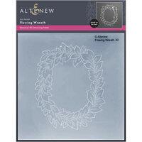 Altenew - Embossing Folder - 3D - Flowing Wreath