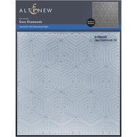 Altenew - Embossing Folder - 3D - Geo Diamonds
