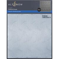 Altenew - Embossing Folder - 3D - Linked Ovals