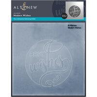 Altenew - Debossing Folder - Modern Wishes