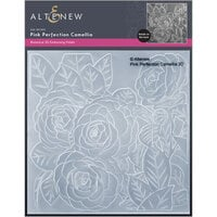 Altenew - Embossing Folder - 3D - Pink Perfection Camellia