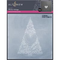 Altenew - Embossing Folder - 3D - Winter Foliage