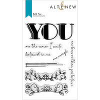 Altenew - Clear Photopolymer Stamps - Bold You