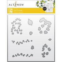 Altenew - Simple Coloring Stencil - True Friends