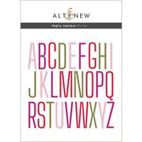 Altenew - Dies - Mighty Alphabet