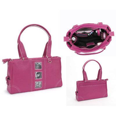 All My Memories - Vituri - Urban Handbag - Raspberry
