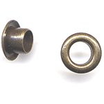 """American Tag - Lost Art Treasures 3/16"""" Eyelets - Antique Brass"""
