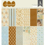 Authentique Paper - Abundant Collection - 12 x 12 Double-Sided Paper Pad