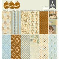 Authentique Paper - Abundant Collection - 12 x 12 Double-Sided Paper Pad