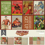 Authentique Paper - 12 x 12 Collection Pack - Football