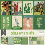 Authentique Paper - 12 x 12 Collection Pack - Golf and Tennis
